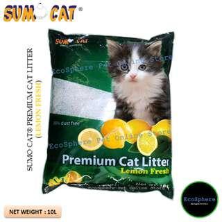 SUMO CAT® Premium Cat Litter (Lemon Fresh) - 10L