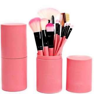 Makeup Brush Set 12 Pcs + Tube (Salem)