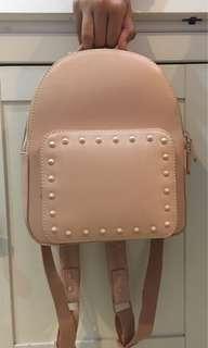 Vincci light pink mini backpack