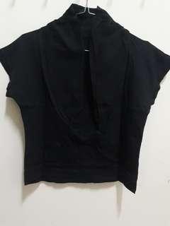 Atasan black ( cardigan )