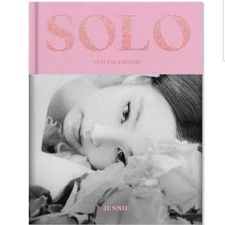 Blackpink jennie solo photobook (special edition)