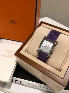 Authentic Hermes Heure H Diamond Watch