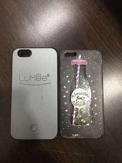 replica lumee case and unicorn case