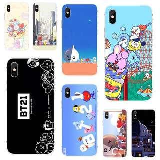 [PO] bts bt21 cuteeeee phone case tpu