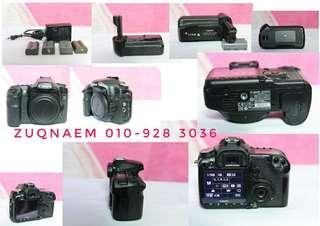 Canon 50d with baterry grib