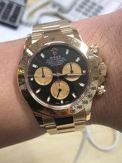 Rolex Daytona Full Gold Paul Newman - 116518
