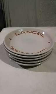 Bowl and saucer by lancel brand