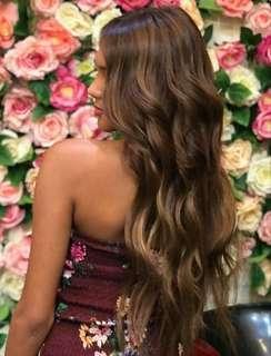 Human Hair Extensions 120 grams ( free shipping)