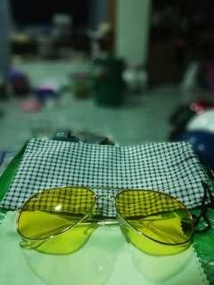 Ray ban yellow specs