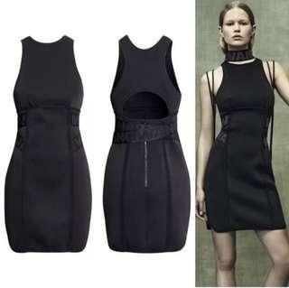 alexander wang x h&m scuba dress size 6
