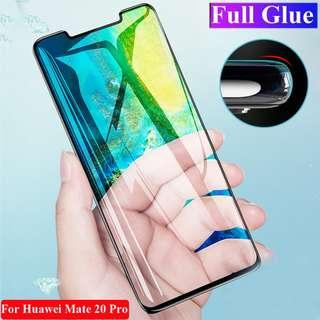 Huawei Mate 20 Pro Full Glue Screen Protector Tempered Glass