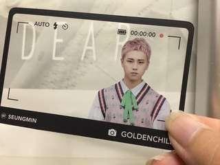 Golden Child GOL-CHA Frame Card
