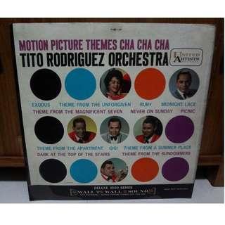 Tito Rodriguez Orchestra Vinyl LP Record Motion Picture Themes Cha Cha Cha