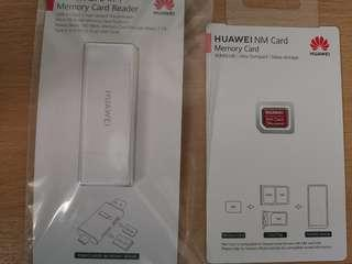 Huawei Nm 128GB card with memory card reader
