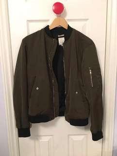 PRICE DROP! zara trafaluc bomber jacket