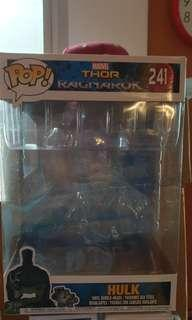 Funko pop thor ragnarok gladiator hulk 10 inch empty box