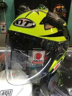 Helmet KYT with Double Visor