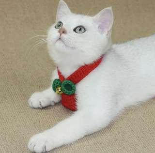 BN Beautiful Christmas Festive Cats Dogs Cats Collar!