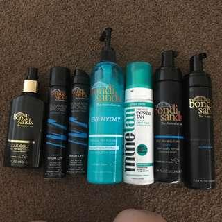 Selling All Tanning Items