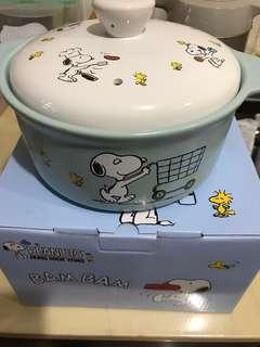 鴻福堂PEANUTS 18cm 陶瓷鍋  1500ml