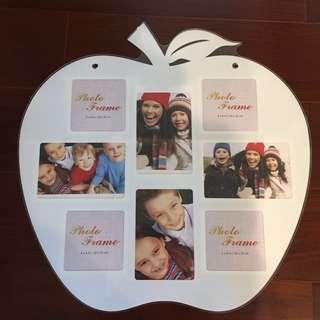 薄壓克力片大蘋果家庭號相框壁掛-單片價格