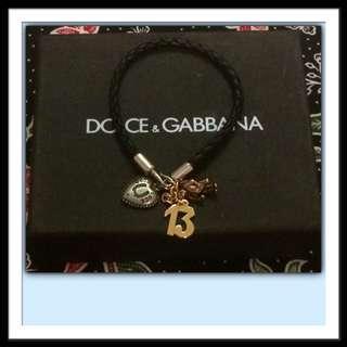 Dolce & Gabbana Men's Good Luck Charm Bracelet