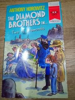 Two of Diamond (Diamond Brother Series) by Anthony Horowitzqp