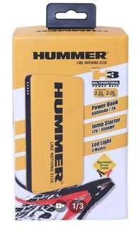 Hummer H3 Multifunctional Power Bank 6000mAh/Jump Starter/LED Light