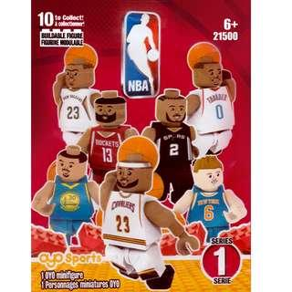 OYO® Sports Authentic NBA® Mystery Minifigures Pack Series 1