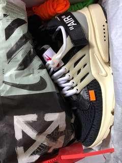 Nike off white presto