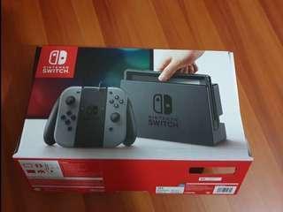 Nintendo Switch Grey (LNIB)
