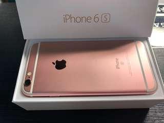 🚚 iphone6s 32g 玫瑰金 盒裝完整