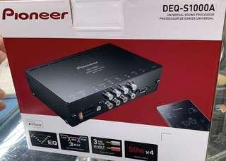 Latest Pioneer DEQ-S1000A universal sound processor with mobile iOS and Android applications for your vehicle audio upgrades.
