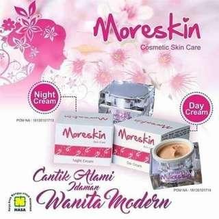 MORESKIN SKIN CARE CREAM SIANG & MALAM
