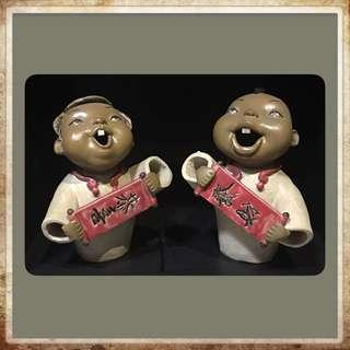 Clay Sculptured Figurines