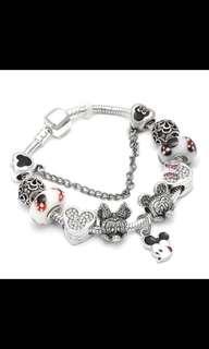 Yr End Sales Mickey Minnie Dangles Charm Pandora Bracelet Sales Ended!