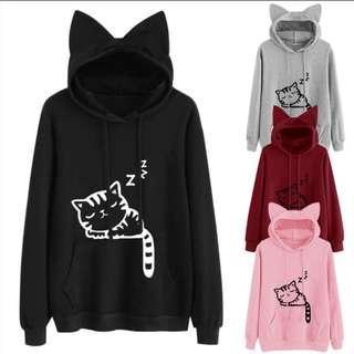 Cat Hoodie Jacket