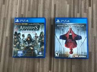 Assassin Creed Syndicate/ Spider-Man 2