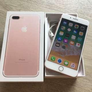 IPhone 7 Plus rose gold 128gb mint condition