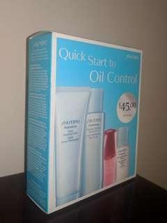 SHISEIDO Quick Start To Oil Control Kit