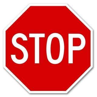PLEASE STOP!