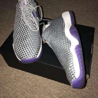Air Jordan Future Low GG, size 6.5Y, worn twice, 8/10 condition