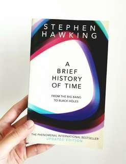 🚚 A Brief History of Time (by Stephen Hawking)