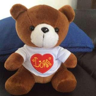 Christmas gift: love bear- 8 inches