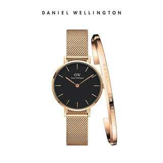 Daniel Wellington Original DW Watch+ Ceramic new style Cuff Gift Set