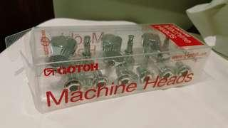 Gotoh machine heads 6 in the line(right)