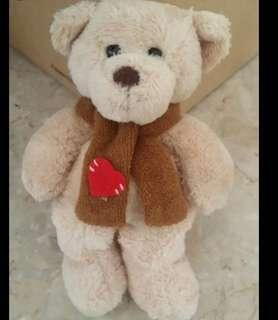 Christmas gift- love bear 5.5 inches