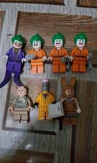 Lego Minifigures batman joker series