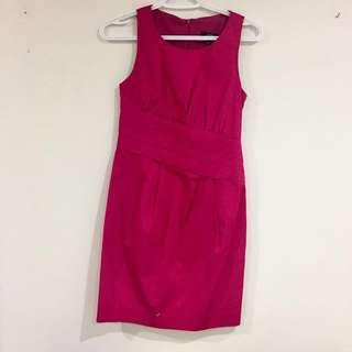*price drop* Jacob fuchsia dress