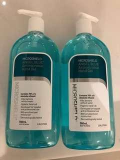 Price Slash! Microshield Angel Blue Antimicrobial Hand Rub
